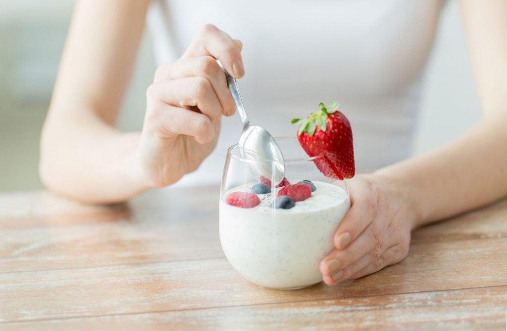 Zelfgemaakte yoghurt